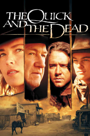 movie poster for The Quick and the Dead