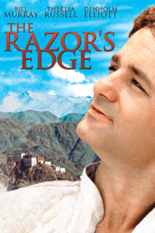 movie poster for The Razor's Edge