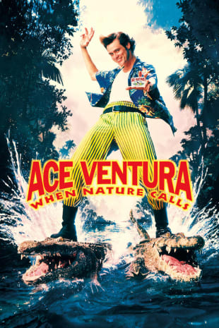 movie poster for Ace Ventura: When Nature Calls