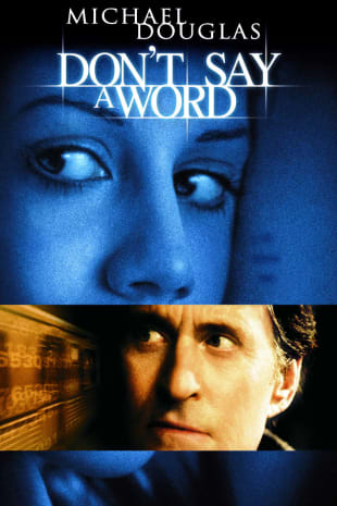 movie poster for Don't Say a Word