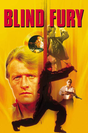 movie poster for Blind Fury