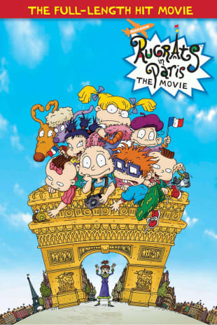 movie poster for Rugrats In Paris: The Movie
