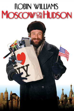 movie poster for Moscow on the Hudson