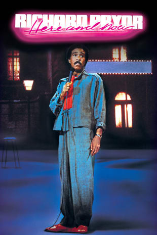 movie poster for Richard Pryor: Here And Now