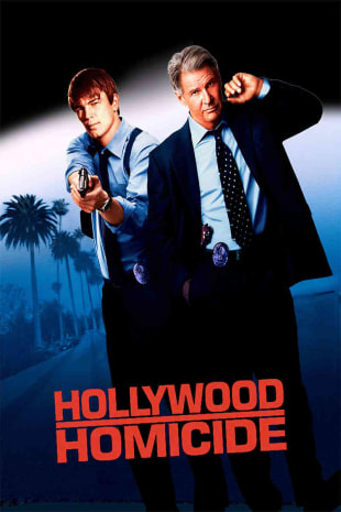 movie poster for Hollywood Homicide