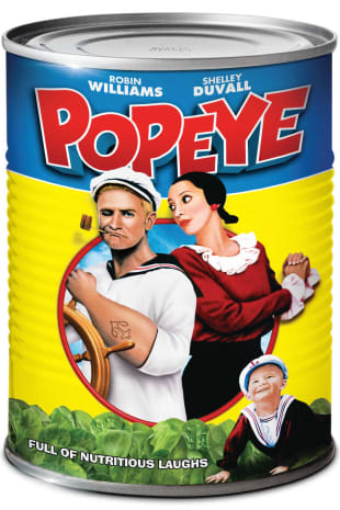 movie poster for Popeye