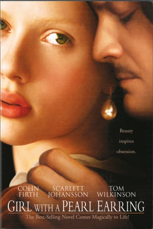 movie poster for Girl With A Pearl Earring