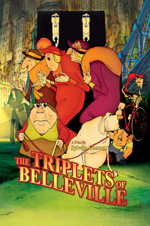 movie poster for The Triplets Of Belleville