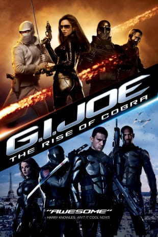 movie poster for G.I. Joe: The Rise of Cobra
