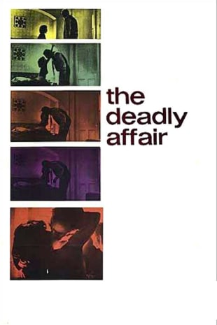 movie poster for The Deadly Affair