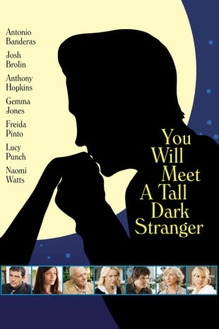 movie poster for You Will Meet A Tall Dark Stranger