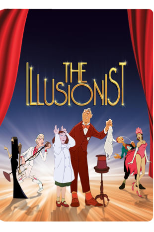 movie poster for The Illusionist