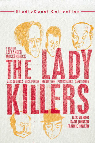 movie poster for The Ladykillers (1956)