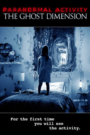 movie poster for Paranormal Activity: The Ghost Dimension