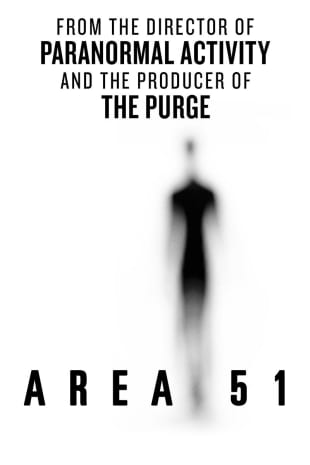 movie poster for Area 51