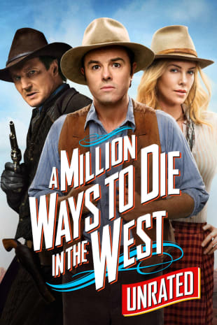 movie poster for A Million Ways to Die in the West (Unrated)