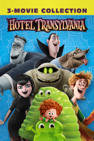 movie poster for Hotel Transylvania 3-Movie Collection