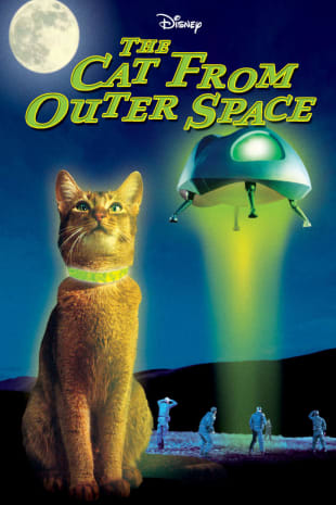 movie poster for The Cat From Outer Space