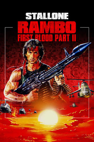 movie poster for Rambo: First Blood Part II (1985)