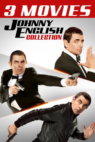 movie poster for Johnny English 3-Movie Collection