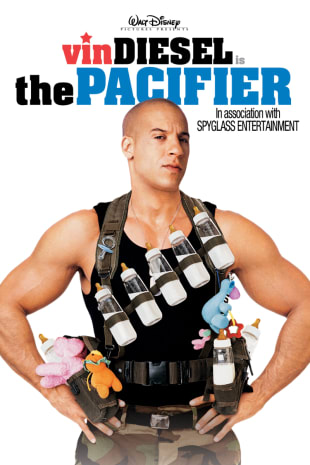 movie poster for The Pacifier