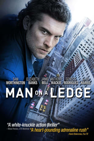movie poster for Man On A Ledge