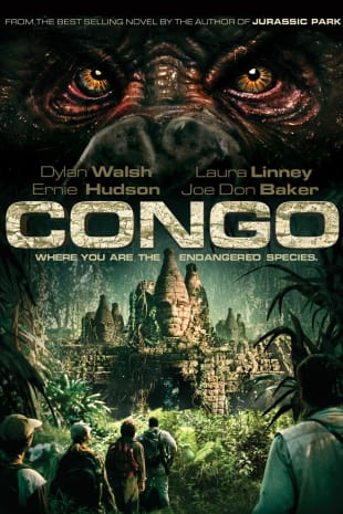 movie poster for Congo