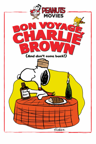 movie poster for Bon Voyage, Charlie Brown