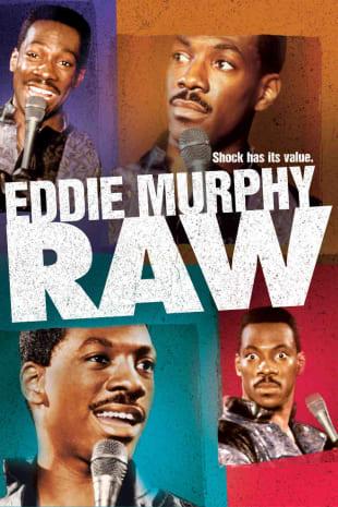 movie poster for Eddie Murphy Raw