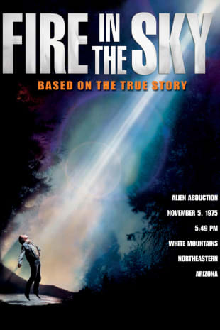 movie poster for Fire in the Sky