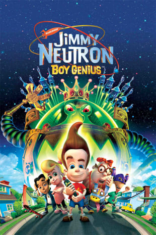 movie poster for Jimmy Neutron, Boy Genius