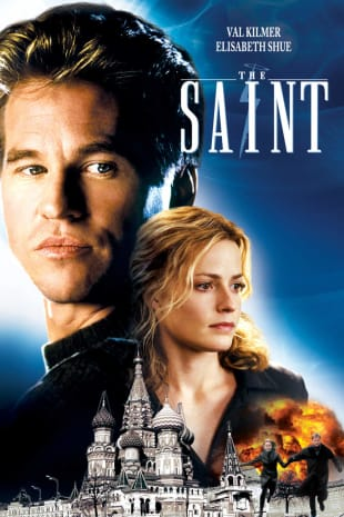 movie poster for The Saint