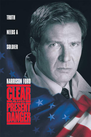 movie poster for Clear And Present Danger
