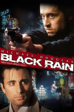 movie poster for Black Rain