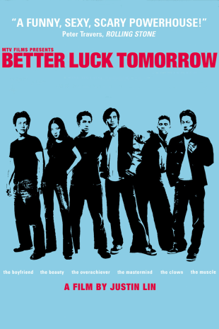 movie poster for Better Luck Tomorrow