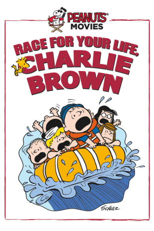 movie poster for Race For Your Life, Charlie Brown