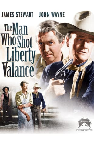 movie poster for The Man Who Shot Liberty Valance