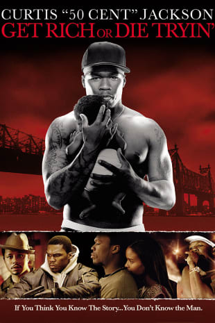 movie poster for Get Rich Or Die Tryin'