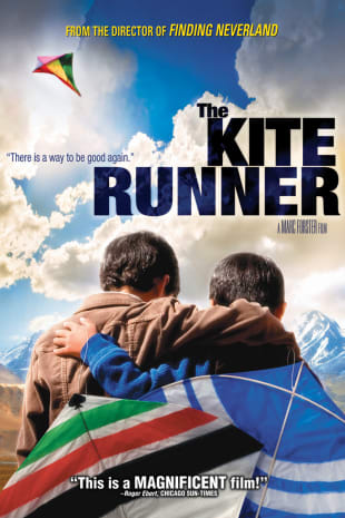 movie poster for The Kite Runner