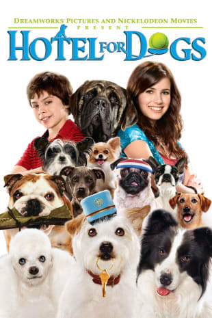 movie poster for Hotel For Dogs