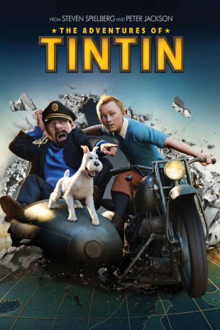 movie poster for The Adventures Of Tintin