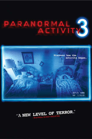 movie poster for Paranormal Activity 3