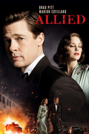 movie poster for Allied