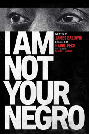 movie poster for I Am Not Your Negro