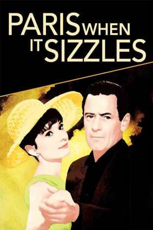 movie poster for Paris When It Sizzles (1964)