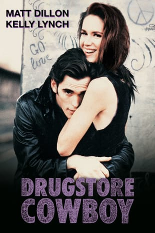 movie poster for Drugstore Cowboy
