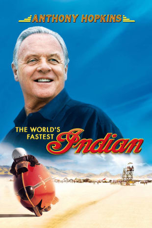 movie poster for The World's Fastest Indian