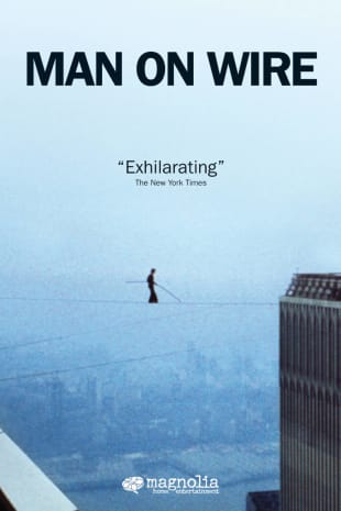 movie poster for Man On Wire