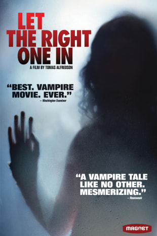 movie poster for Let The Right One In (2008)