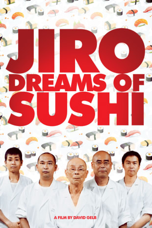 movie poster for Jiro Dreams of Sushi
